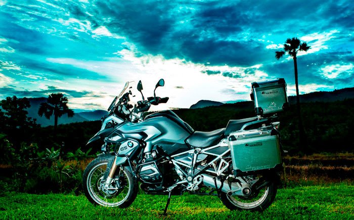 Big bike motorcycle t Suan Sook Boutique bed and breakfast homestay accommodation